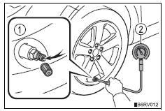 Toyota RAV4. Inspection and adjustment procedure
