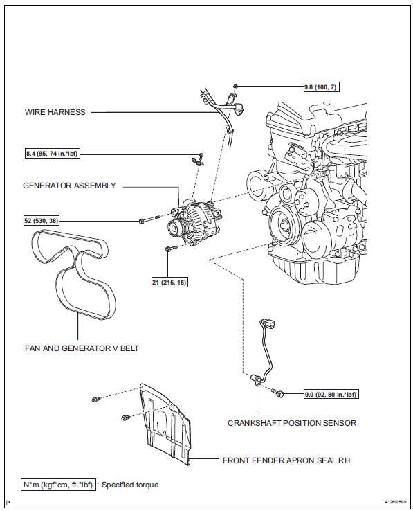 toyota rav4 service manual crankshaft position sensor 2az fe rh trav4 net crank position sensor manual crank position sensor manual