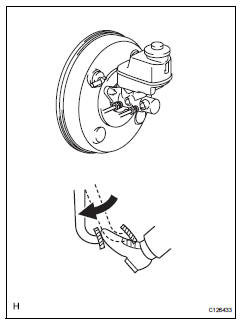 Toyota RAV4 Service Manual: Bleeding - Brake fluid - Brake