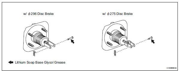 Toyota RAV4. Install push rod pin