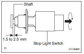 Toyota RAV4 Service Manual: Brake pedal - Brake