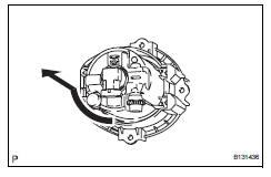 Toyota RAV4. Remove fog light bulb