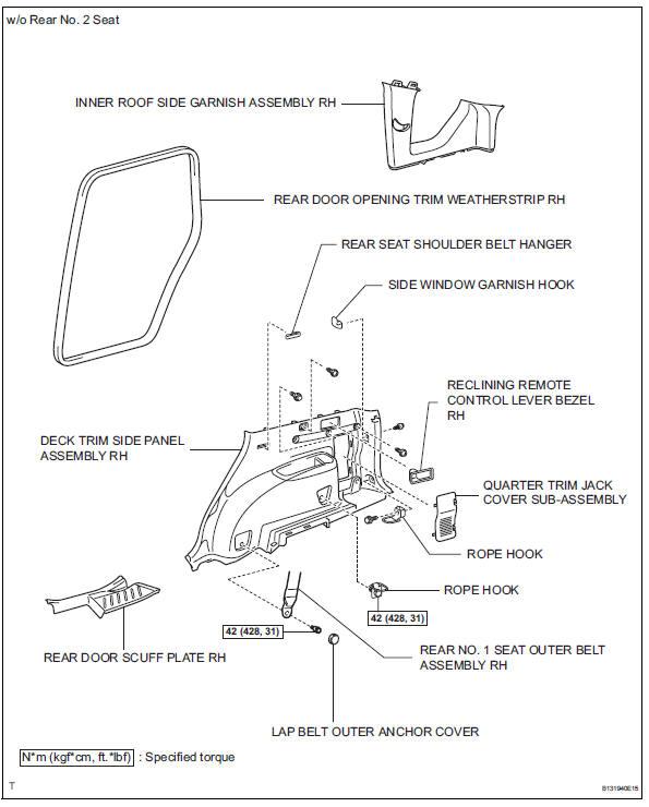 Toyota RAV4. Components (2005/11-2006/01)