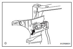 Toyota RAV4 Service Manual: Front airbag sensor